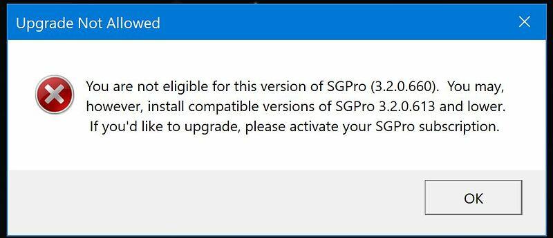 SGP msg
