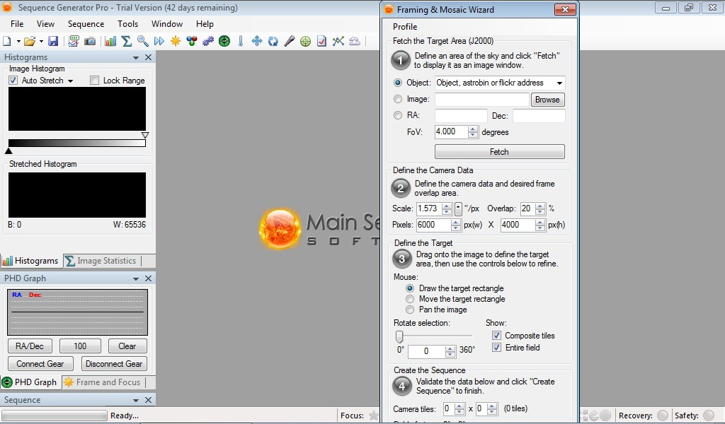 Frame & Mosaic Wizard: Can\'t create a Sequence - Sequence Generator ...